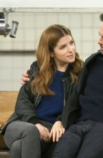 ANNA KENDRICK on the Set of Love Life in Brooklyn 12/18/2019