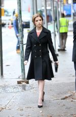 ANNA KENDRICK on the Set of Love Life in New York 12/10/2019