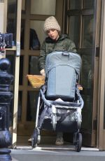 ANNA KENDRICK on the Set of Love Life in New York 12/12/2019