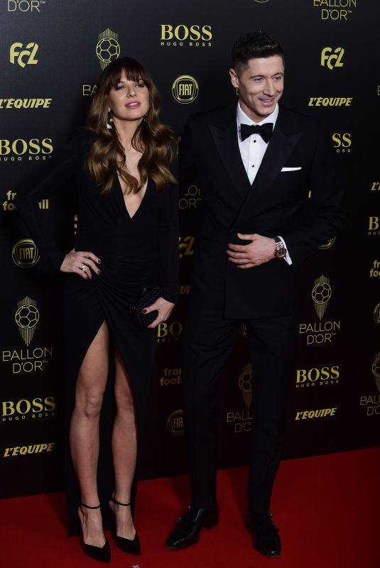 ANNA LEWANDOWSKA at Ballon D'Or France Football 2019 Award in Paris 12/02/2019