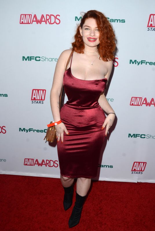 ANNABEL REDD at AVN Awards Nominations Announcement in Hollywood 11/21/2019