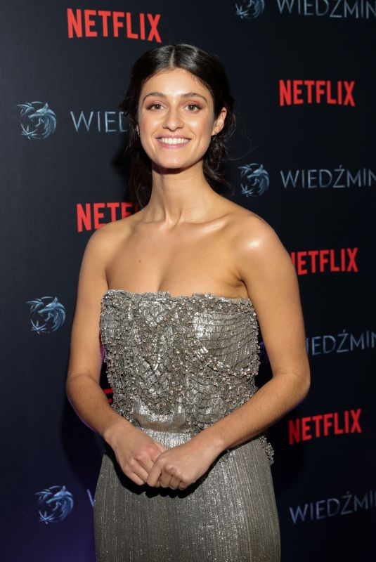 ANYA CHALOTRA at The Witcher Premiere in Warsaw 12/18/2019
