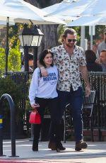 ARIEL WINTER and Luke Benward at Patys Restaurant in Los Angeles 12/20/2019