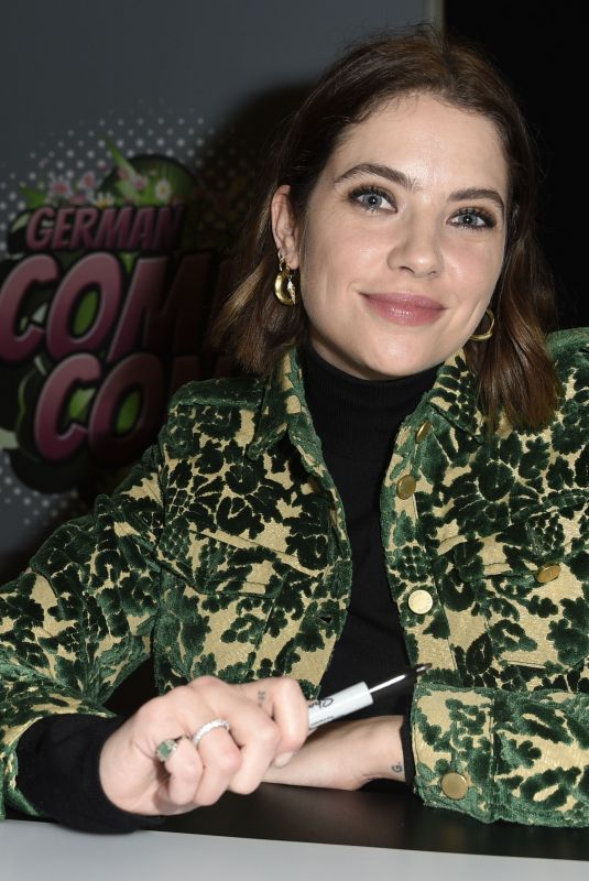 ASHLEY BENSON at German Comic Con 12/08/2019