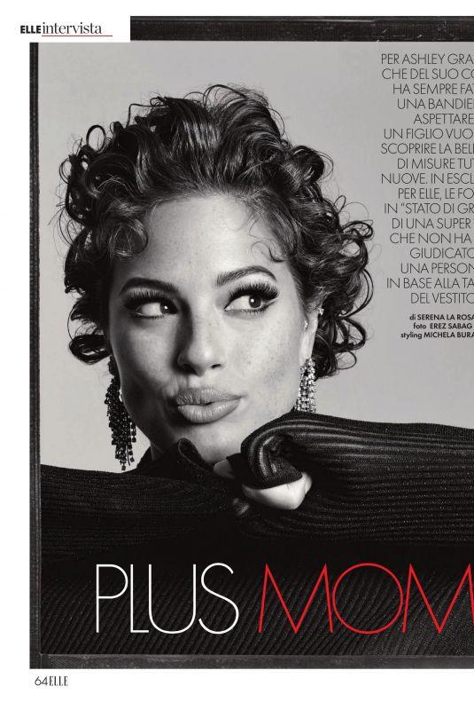 ASHLEY GRAHAM in Elle Magazine, Italy December 2019