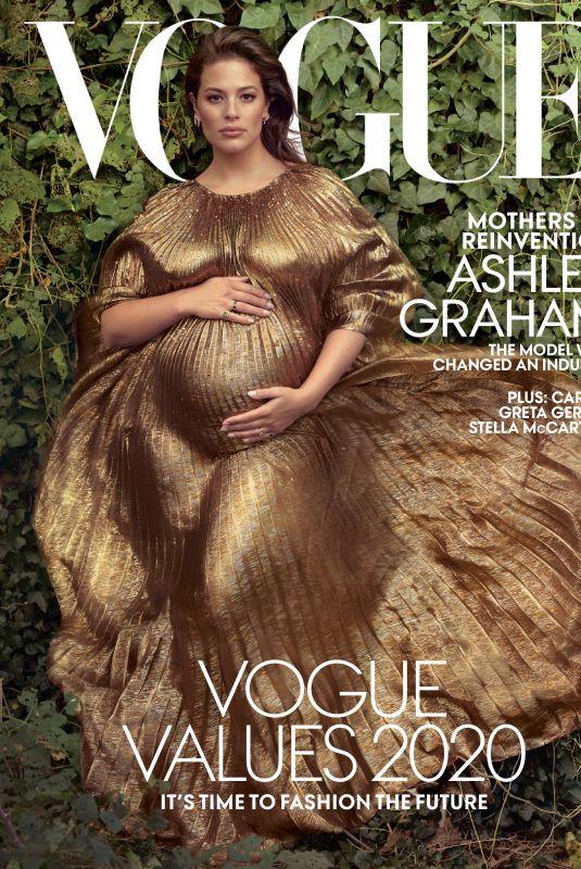 ASHLEY GRAHAM in Vogue Magazine, January 2020
