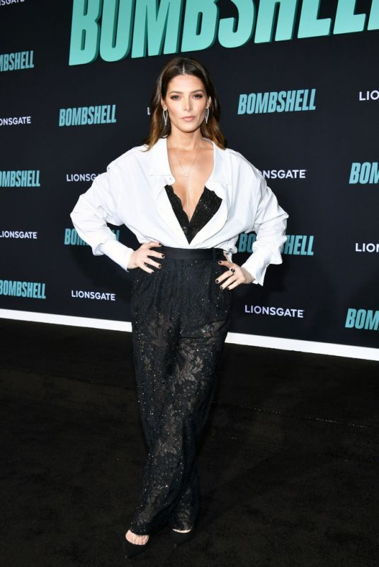 ASHLEY GREENE at Bombshell Special Screening in Westwood 12/10/2019
