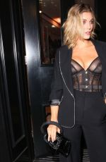 ASHLEY JAMES at Boux Avenue x Megan McLenna Launch at Boux Avenue Oxford Street in London 12/11/2019