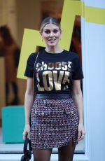 ASHLEY JAMES at Choose Love Pop-up Store Event in London 12/09/2019