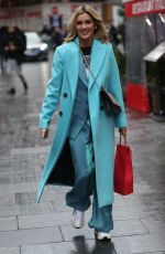 ASHLEY ROBERTS Leaves Heart Radio in London 12/19/2019