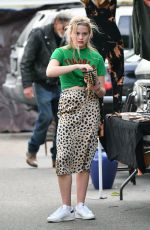 AVA PHILLIPPE Shopping with at Local Flea Market in Los Angeles 12/29/2019