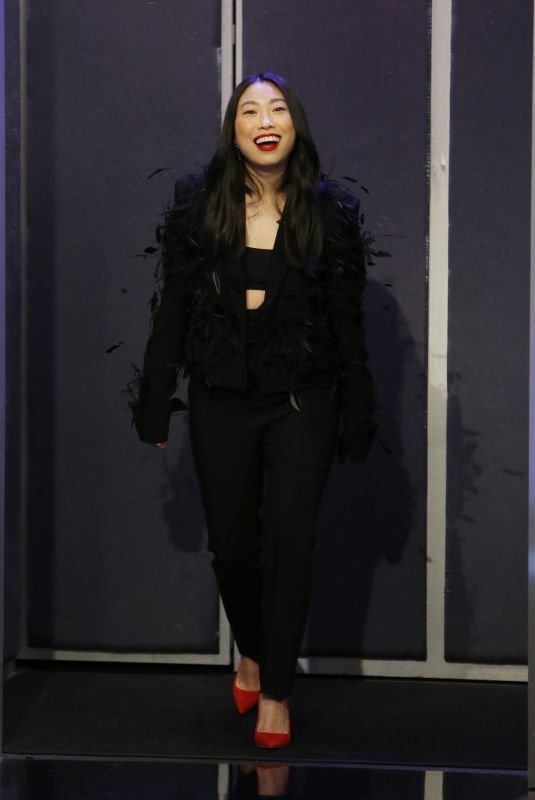 AWKWAFINA at Jimmy Kimmel Live 12/12/2019