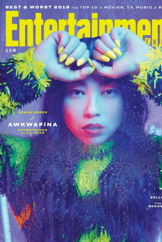 AWKWAFINA in Entertainment Weekly, Entertainers of the Year Magazine, December 2019