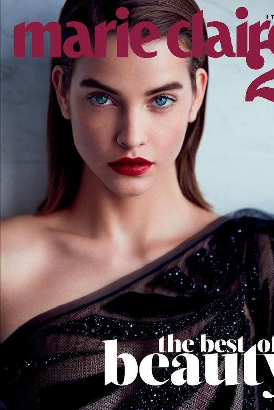 BARBARA PALVIN for Marie Claire Magazine, Italy December 2019