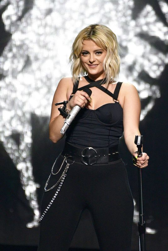 BEBE REXHA Performs at Oracle Arena in Oakland 12/12/2019