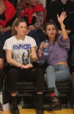 BEHATI PRINSLOO and WHITNEY HARTLEY WAGNER at LA Lakers vd Denver Nuggets Game 12/22/2019