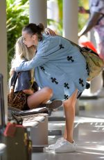 BELLA HADID Out and About in St. Barts 12/09/2019