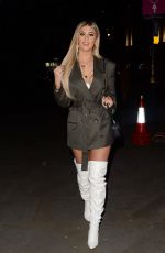BELLA HASSAN Arrives at STK in London 12/29/2019