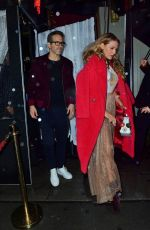 BLAKE LIVELY and Ryan Reynolds at Taylor Swift's 30th Birthday Bash in New York 12/14/2019