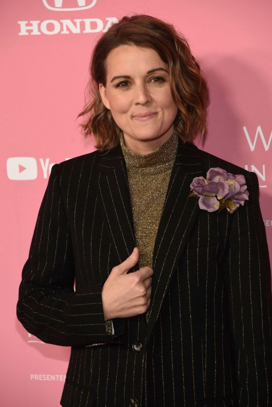 BRANDI CARLILE at Billboard Women in Music 2019 in Los Angeles 12/12/2019