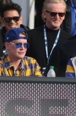 BRENDA SONG at Los Angeles Rams Game in Los Angeles 12/29/2019