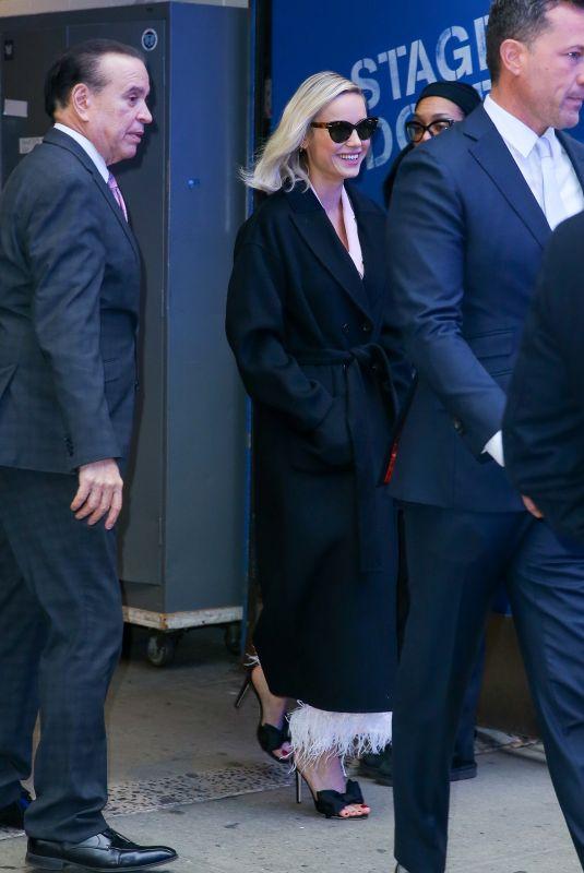 BRIE LARSON Leaves Good Morning America in New York 12/16/2019