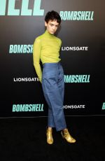 BRIGETTE LUNDY-PAINE at Bombshell Premiere in New York 12/16/2019