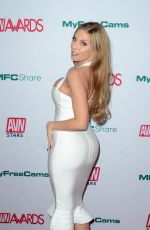BRITNEY AMBER at AVN Awards Nominations Announcement in Hollywood 11/21/2019