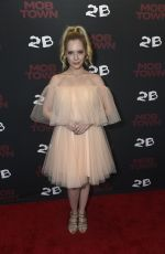 CAITLIN MEHNER at Mob Town Premiere in Los Angeles 12/13/2019