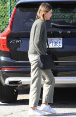 CALISTA FLOCKHART Out Shopping in West Hollywood 12/16/2019