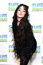 CAMILA CABELLO at Elvis Duran Z100 Morning Show in New York 12/12/2019