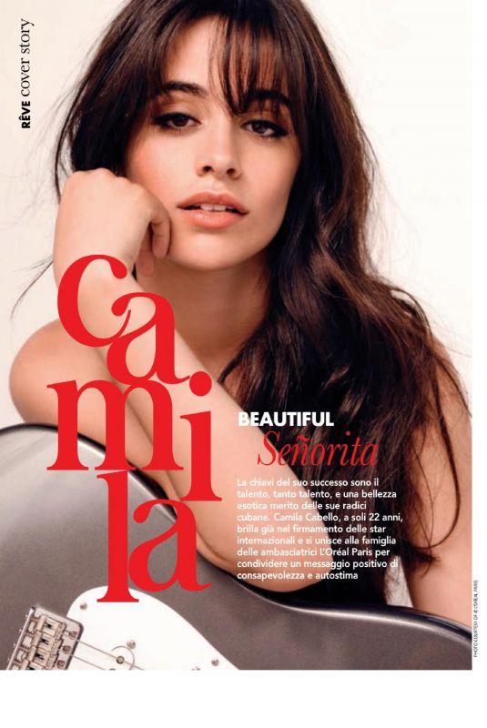 CAMILA CABELLO in Reve Magazine, December 2019/January 2020