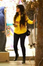 CAMILA CABELLO Shopping at The Grove in Los Angeles 12/18/2019