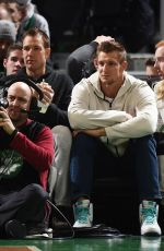 CAMILLE KOSTEK at Denver Nuggets vs Boston Celtics Game in Boston 12/06/2019