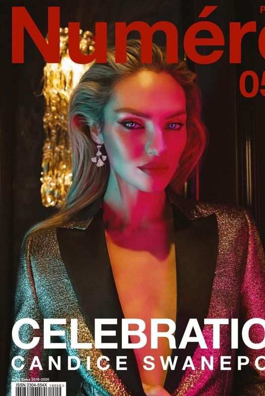 CANDICE SWANEPOEL in Numero Magazine, Russia December 2019