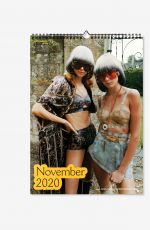 CARA DELEVINGNE and KENDALL JENNER- Chaos 2020 Calendar
