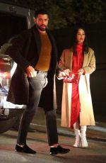 CARA SANTANA and Jesse Metcalfe at Seth Macfarlane