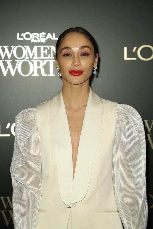 CARA SANTANA at L'Oreal Paris Women of Worth Awards in New York 12/04/2019