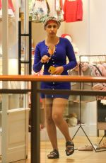 CARDI B Out Shopping Makeup Free at The Mall in Miami 12/22/2019