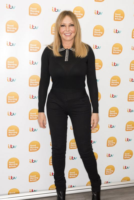 CAROL VORDERMAN at Good Morning Britain in London 12/19/2019