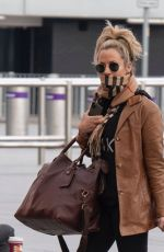 CAROLINE FLACK Arrives at Heathrow Airport in London 12/29/2019