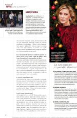 CATE BLANCHETT in Natural Style Magazine, December 2019