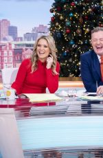 CHARLOTTE HAWKINS at Good Morning Britain Show in London 12/16/2019