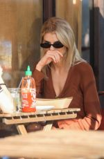 CHARLOTTE MCKINNEY Out for Lunch in Los Angeles 12/12/2019
