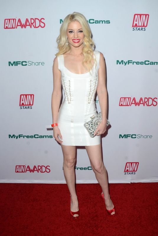 CHARLOTTE STOKELY at AVN Awards Nominations Announcement in Hollywood 11/21/2019