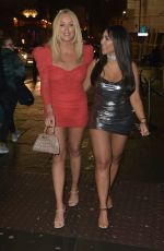 CHLE FERRY, CHARLOTTE CROSBY and SOPHIE KASAEI Night Out in Newcastle 12/22/2019