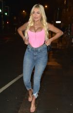 CHLOE FERRY Night Out in Newcastle 12/22/2019