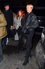 CHLOE SEVIGNY and NATASHA LYONNE at SNL Winter Finale After-party in New York 12/21/2019