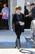CHRIS JENNER Shopping at Aldik Home in Los Angeles 12/14/2019
