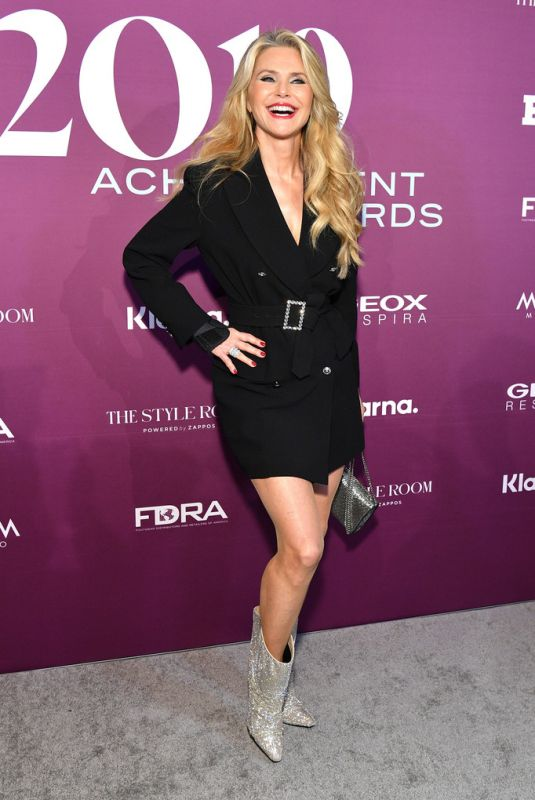 CHRISTIE BRINKLEY at 2019 FN Achievement Awards in New York 12/03/2019